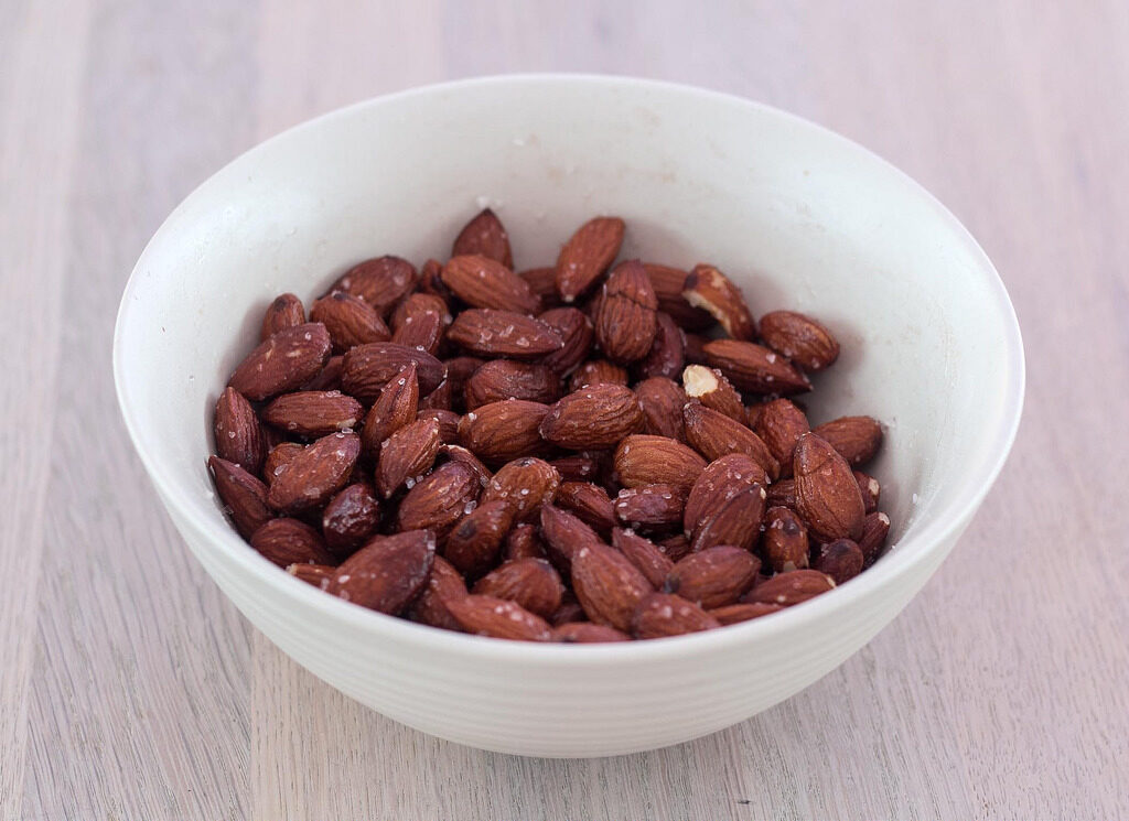 Recipe for Homemade Salted-Almonds