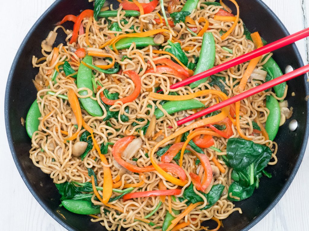 Recipe for Homemade Easy Lo Mein