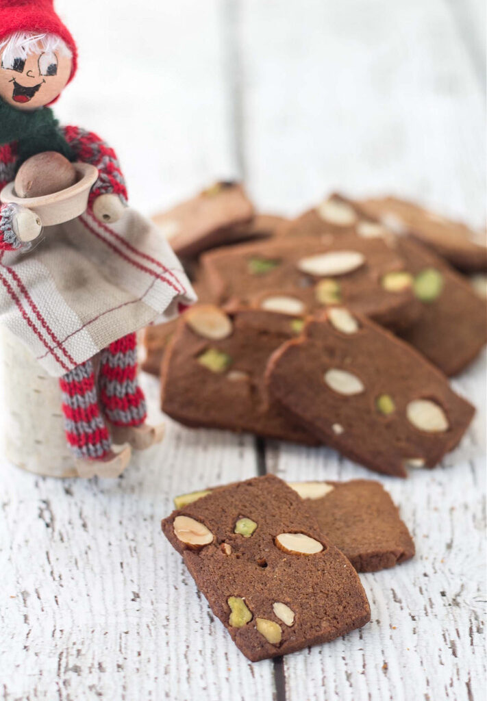 Recipe For Danish Brown Cookie Brunkager Nordic Christmas Cookie