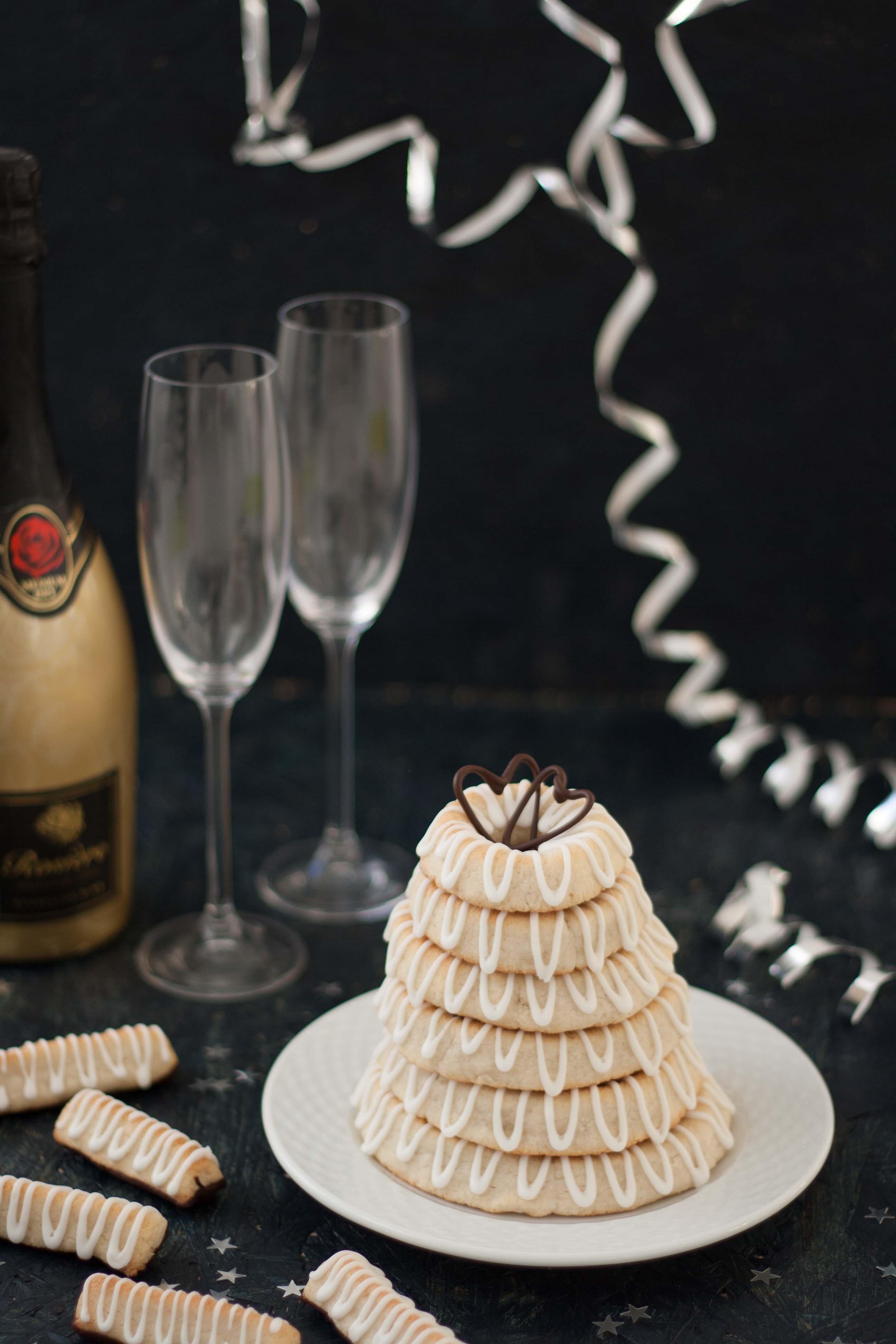 Homemade Marzipan Ring Cake (kransekage)