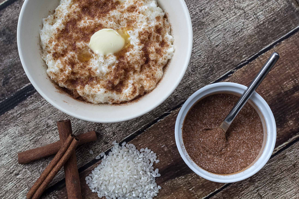 Recipe for Homemade Danish Rice Pudding