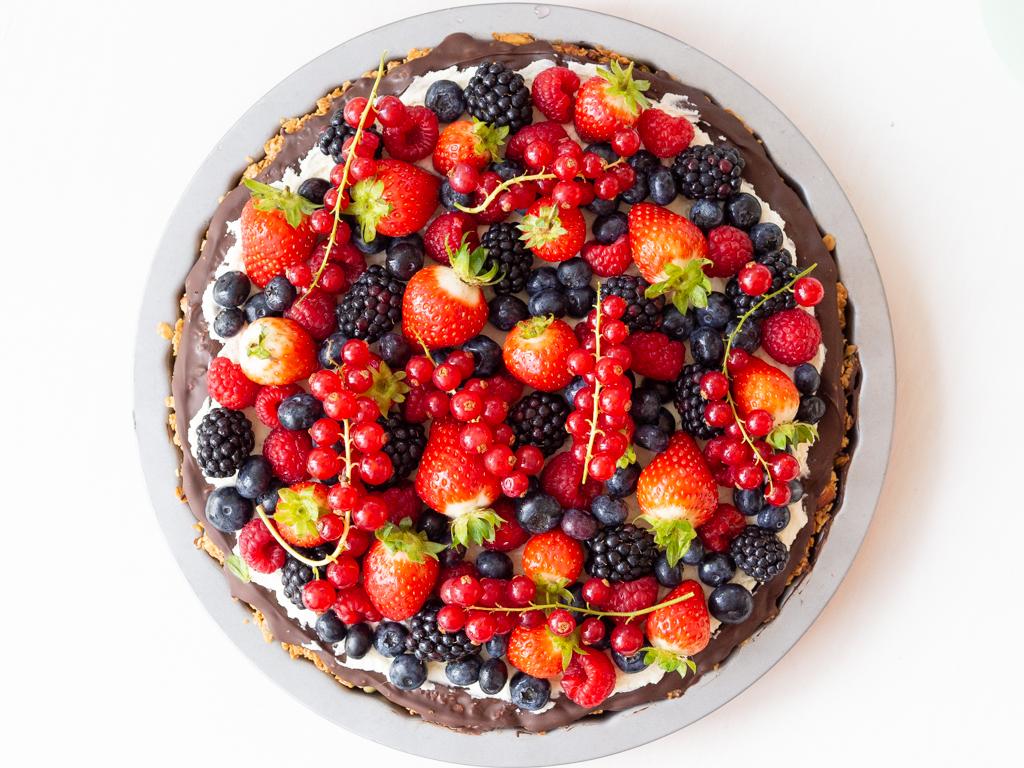 Recipe for Nordic Granola Berry Pie