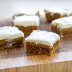 Recipe for Nordic Carrot Cake with cream cheese topping