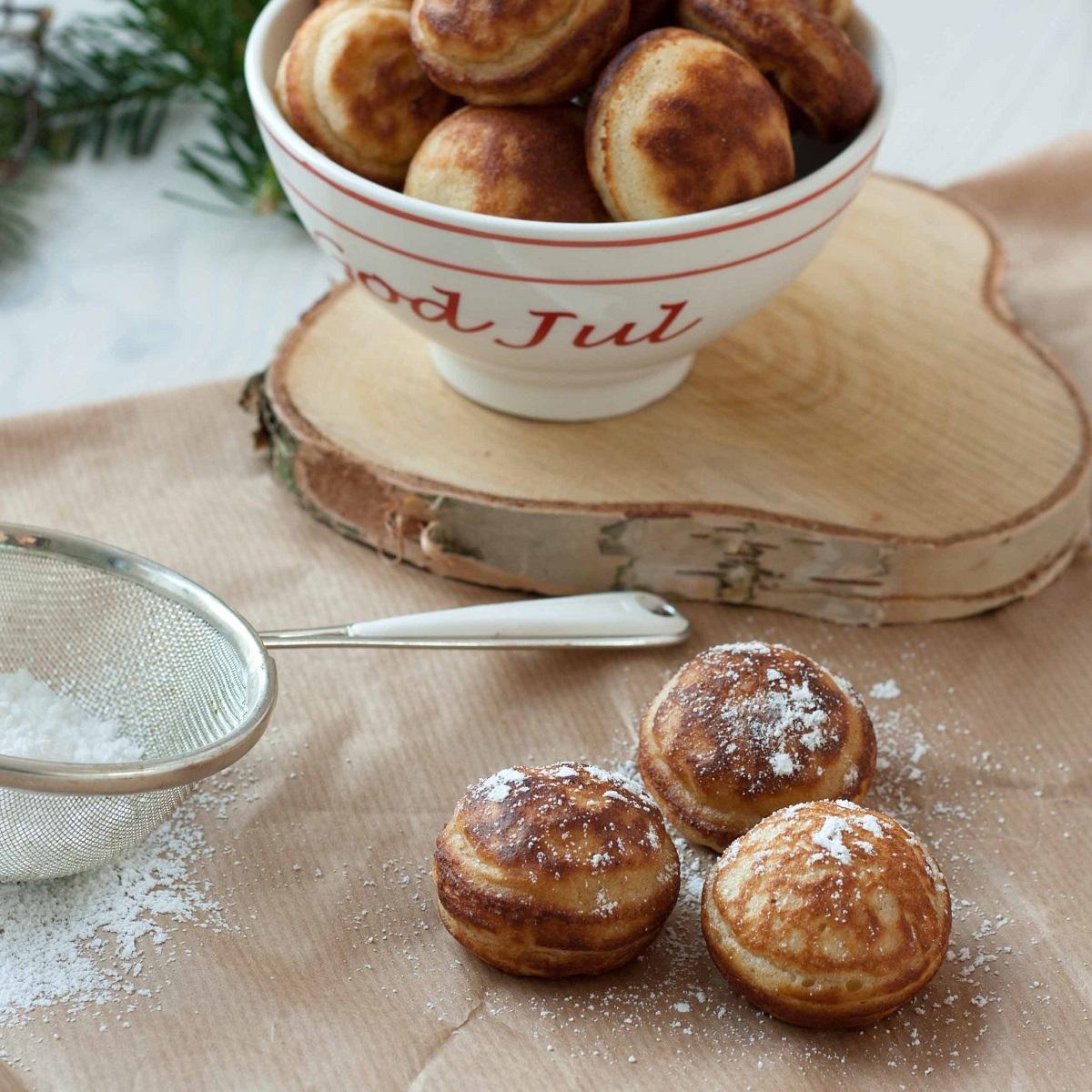 Original Recipe for Danish Aebleskiver (Danish Pancake Balls)