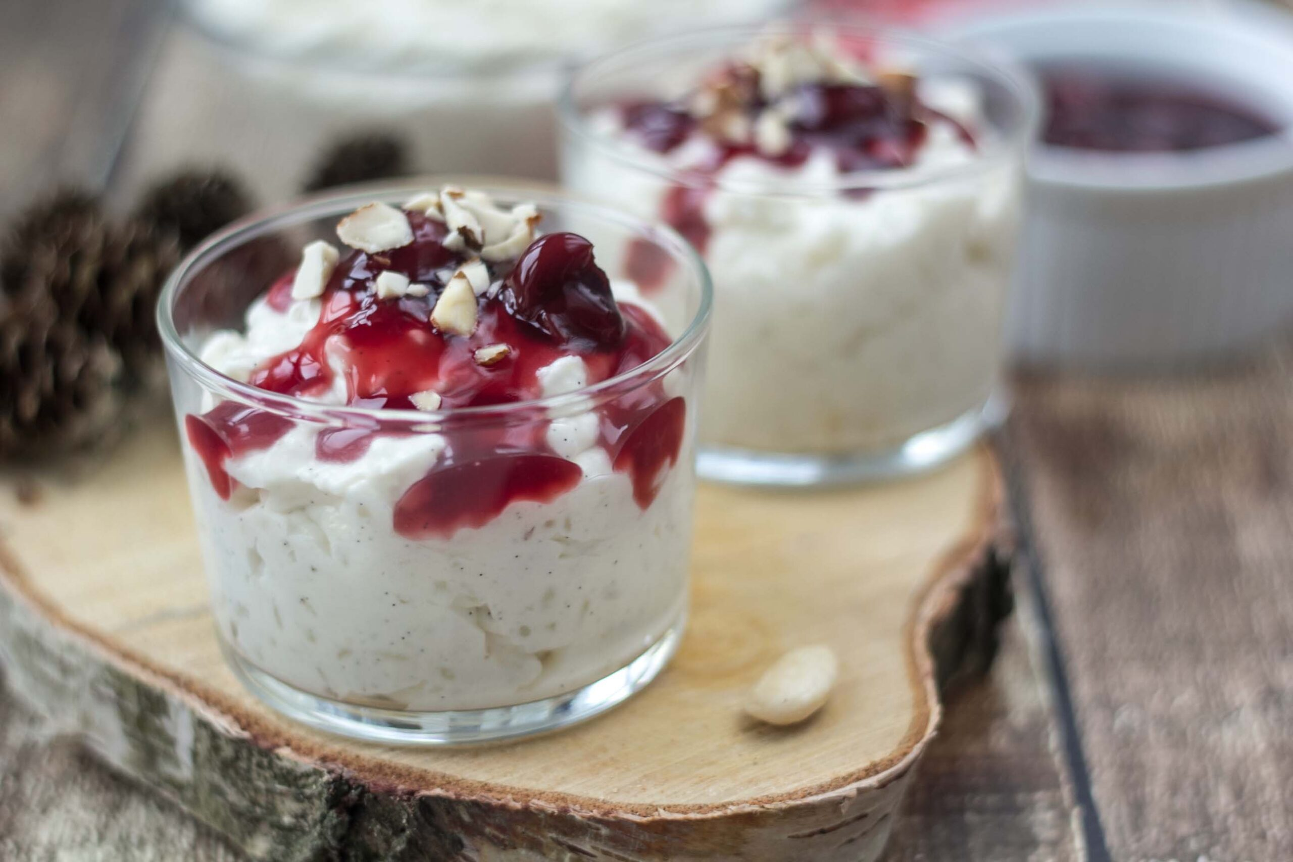 Recipe for Danish Rice Dessert (Risalamande)