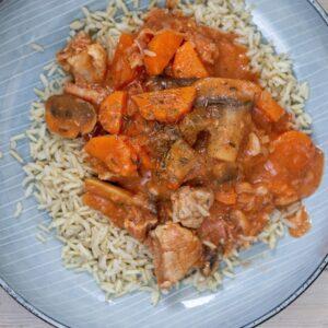 Recipe Danish Pork Stew (Mørbradgryde) Thumbnail